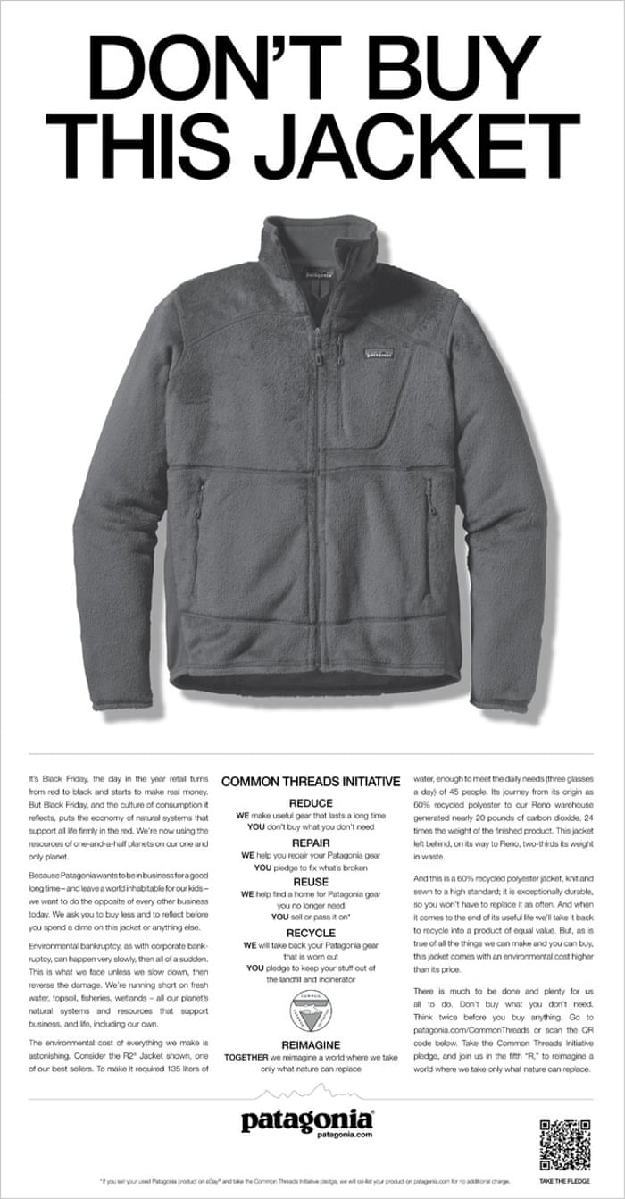 af78ddd96 Patagonia and The North Face: saving the world – one puffer jacket ...