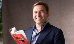 David Walliam shas clocked up £11m in sales with his kids books, but such successes tilt the market toward famous names.
