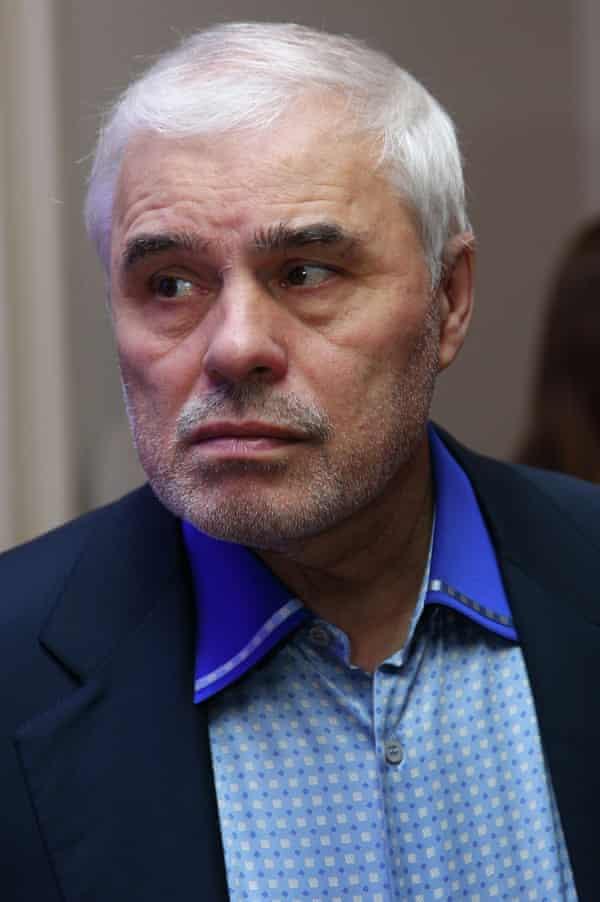 Viktor Fedotov pictured in 2012