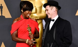 'Opposing without hatred'... Viola Davis and Mark Rylance.