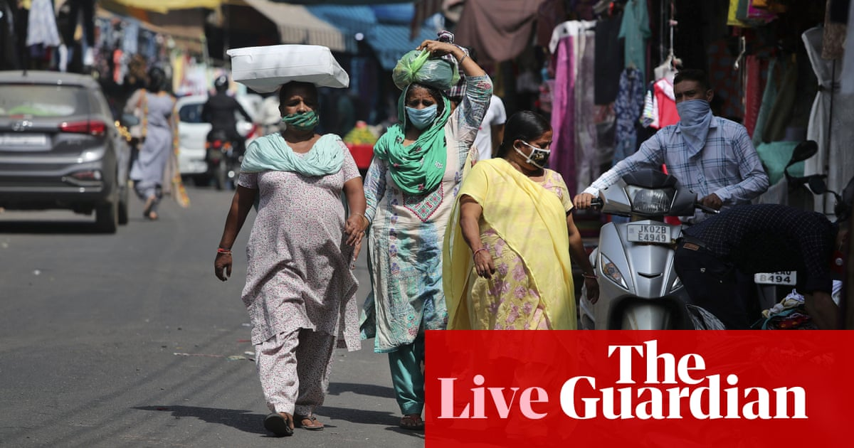 Coronavirus live news: global deaths near 1m as India passes 6m cases | World news