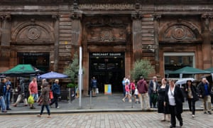 """Merchant Square, Glasgow: """"It's a very kind city, though I don't think it's always portrayed like that.'"""