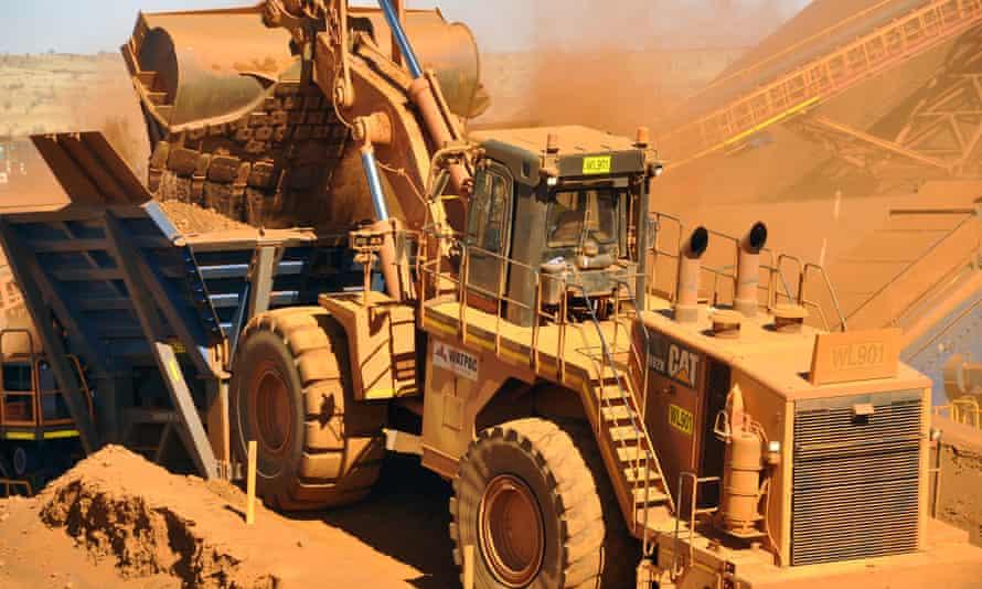 iron ore mine in pilbara
