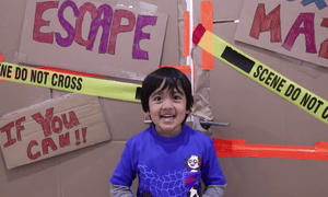 Ryan, star of his YouTube channel Ryan ToysReview.