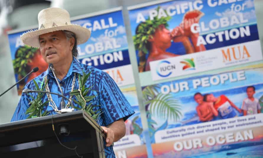 Henry Puna, former prime minister of the Cook Islands, has been elected Secretary-General of the Pacific Islands Forum