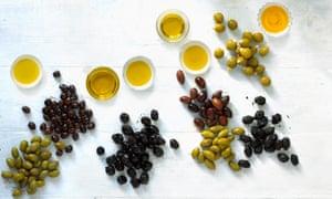 So many types of olives, so many olive oils ...