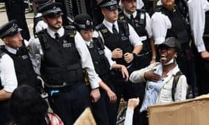 Black Lives Matter protest, London, 3 June.