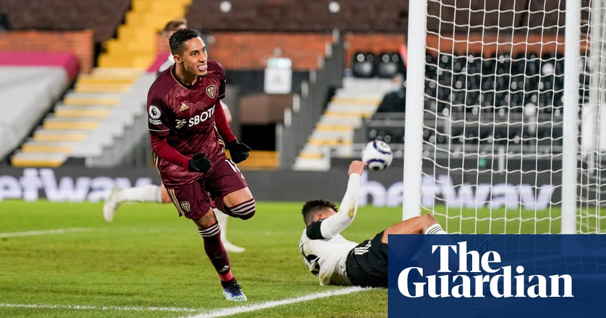 Raphinha's strike for Leeds piles relegation pressure on Fulham