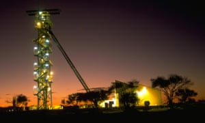 BHP Billiton's Olympic Dam copper and uranium operation at Roxby Downs in South Australia.