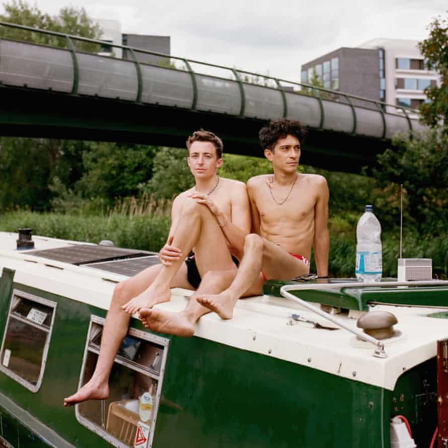 Ben and Gabriel, Mile End Park.