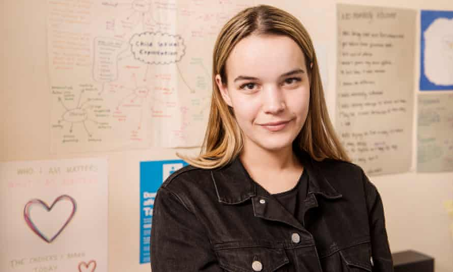 Talia Kensi, who founded Youth Realities