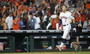 Houston Astros Level Alcs With Yankees On Correa S Walk Off