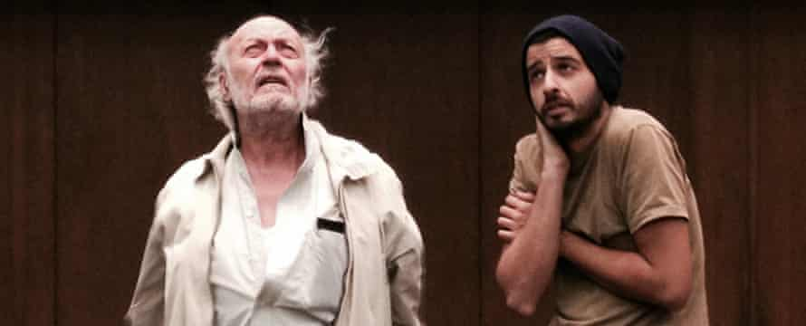 Roger Assaf and Sany Abdul Baki in King Lear.