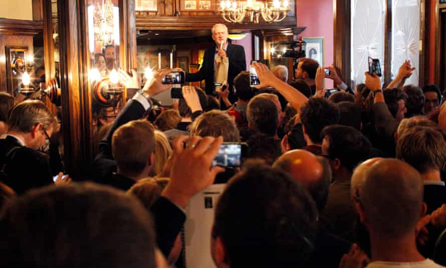 Piers Corbyn's brother, Jeremy Corbyn celebrates his victory in the Labour leadership campaign