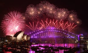 Sydney's New Year's Eve fireworks display last year
