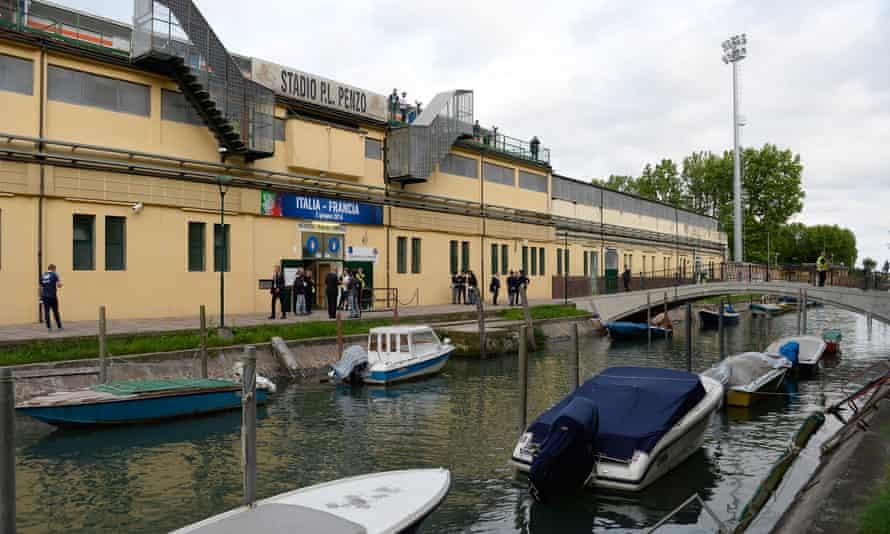 The Stadio Pierluigi Penzo in Venice.