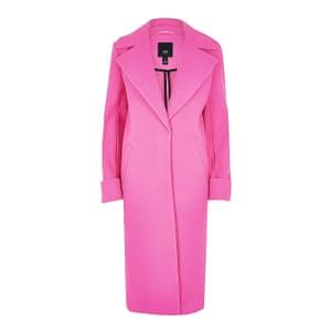 Neon pink, £80, riverisland.com.
