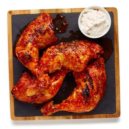 Felicity Cloake's perfect piri piri chicken.