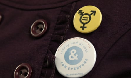 """A button that reads, """"Safety and Access for Everyone""""."""