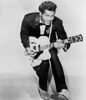 Chuck Berry seen circa 1958.