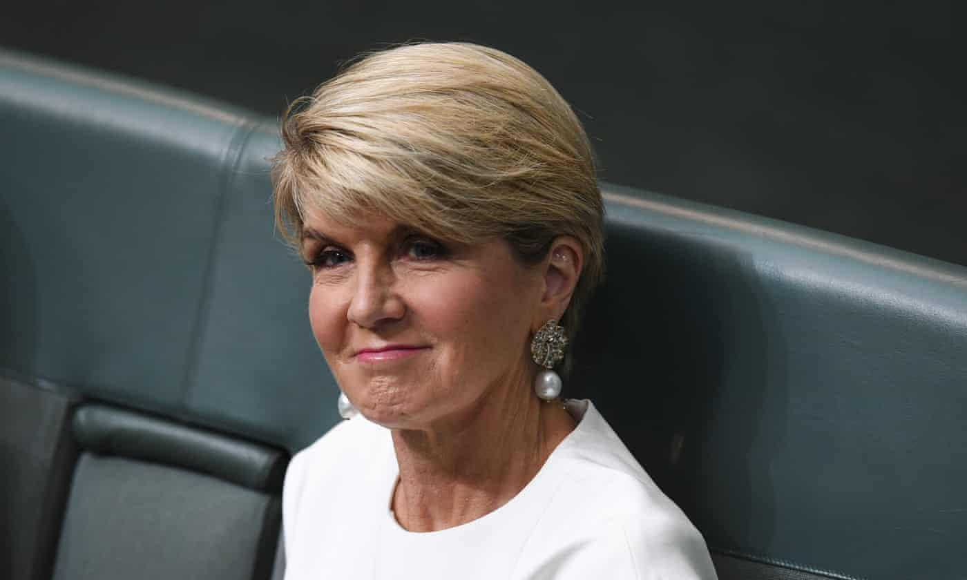 Julie Bishop laments 'gender deafness' during her time in politics