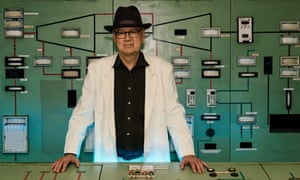 Tony Conrad in the Berlin power plant.