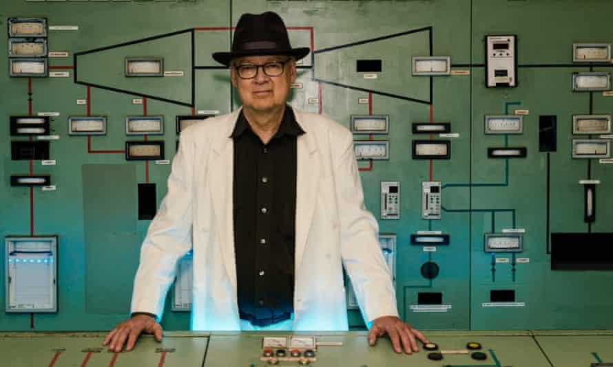 Tony Conrad in the Berlin power plant.