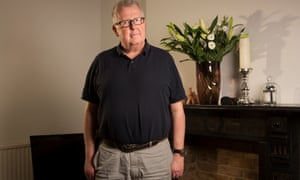 Steve Hewlett: 'My appetite was so reduced, I lost two kilos over the Christmas period.'