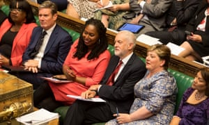 BAME women - including Dianne Abbott (left), Dawn Butler (third left) and Valerie Vaz (right) – make up 17% of female MPs.