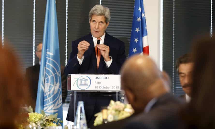 John Kerry said he will travel to the Middle East this week to meet Abbas and Netanyahu.