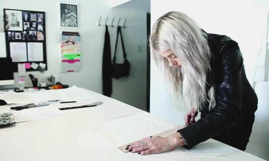 Melissa Fleis in her LA studio.