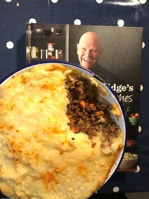 Tom Kerridge's lamb shoulder shepherd's pie.