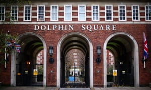 Dolphin Square, London, where some of the alleged child sex abuse took place in the 1970s.