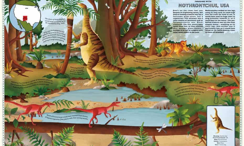 Atlas of Dinosaur Adventures pages.