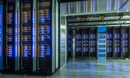 Facebook's Lulea data centre in Sweden