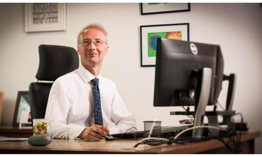 Stephen Blatchford, the executive chairman of prosthetics firm Blatchford.