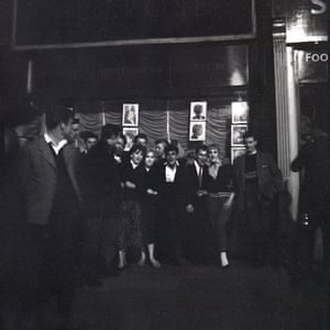 Teenagers in the Elephant and Castle, 1956