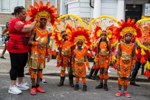 Ecosystem of cultural participation... Notting Hill Carnival. Photograph by David Levene