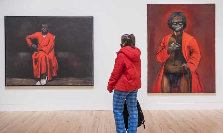 Shrinking at speed … Tate Britain.