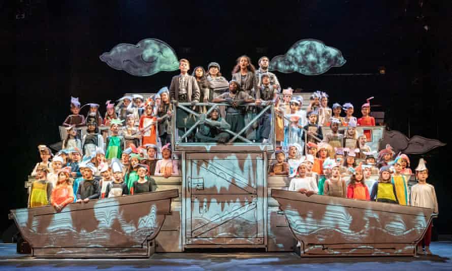 A shining example of community opera ... Noye's Fludde.