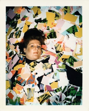 A self-portrait by Brigid Berlin. 'No picture ever mattered,' she said. 'There was never any subject that I was after. It was clicking it and pulling it out that I loved.'