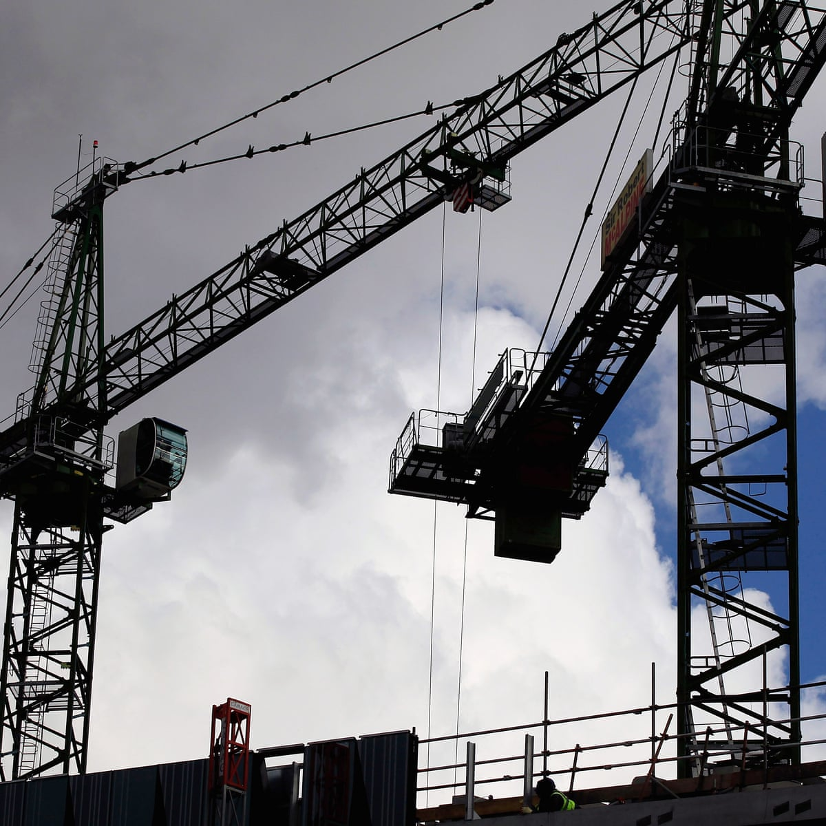 Uk Construction Data Cheers Markets And Bolsters Sterling Business The Guardian