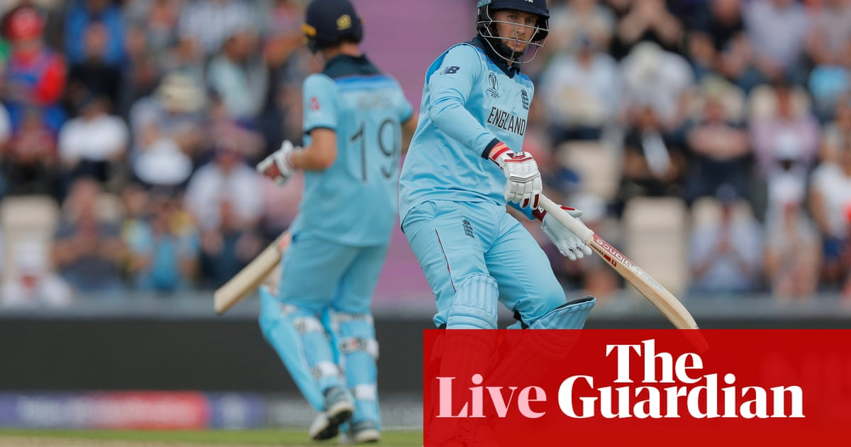England chasing 213 to beat West Indies: Cricket World Cup 2019 – live!