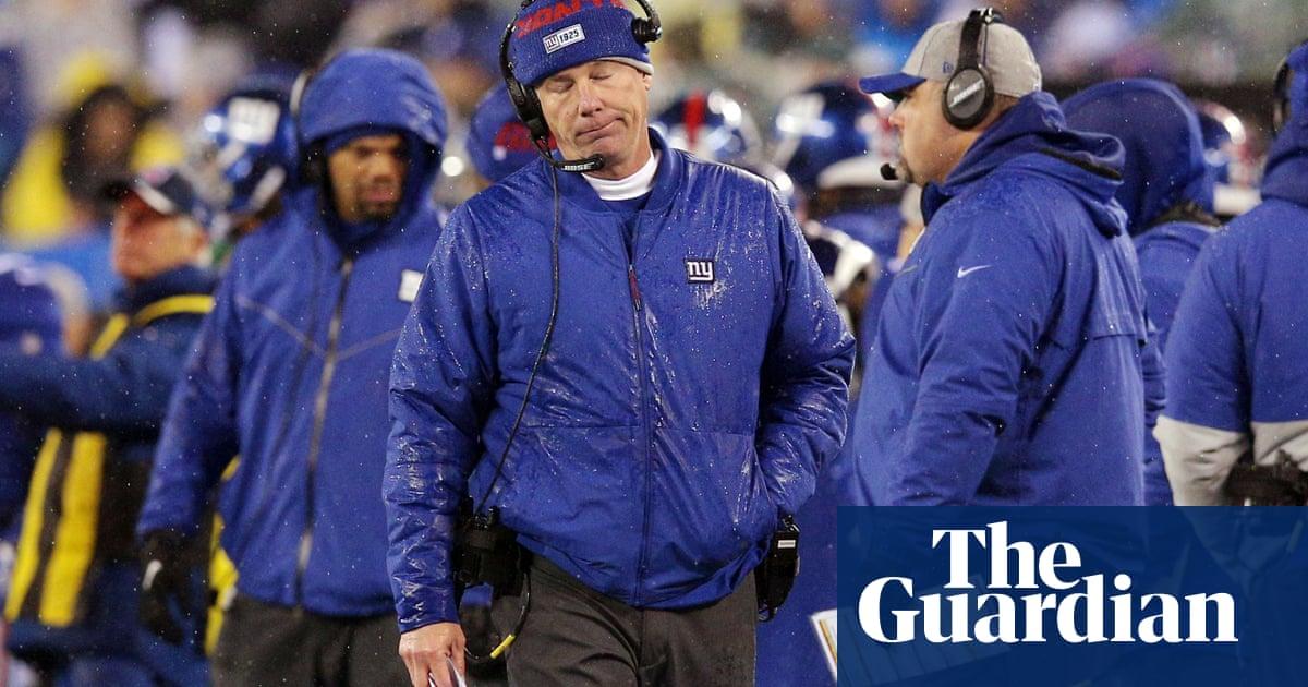 New York Giants fire coach Pat Shurmur but reinstall GM Dave Gettleman