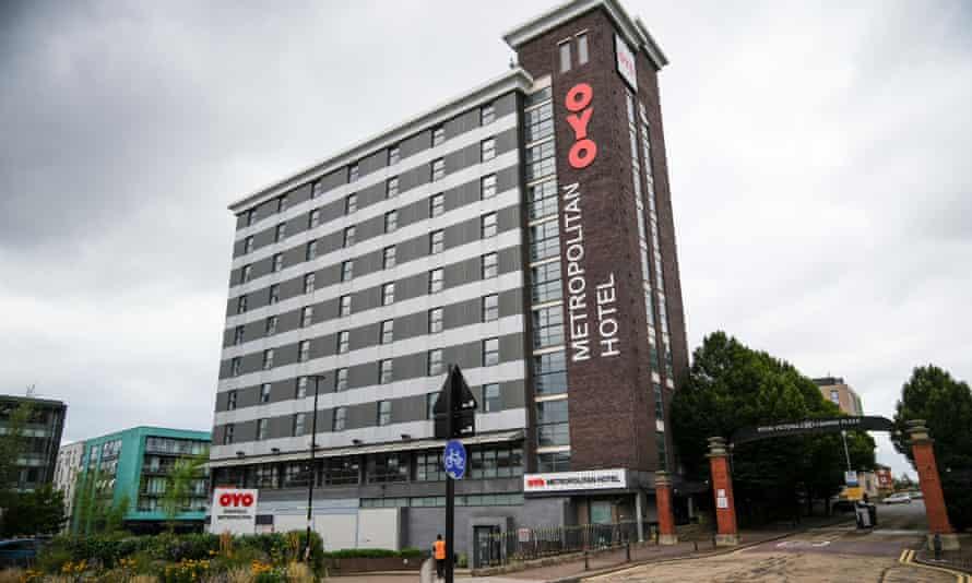 The Oyo Metropolitan hotel.