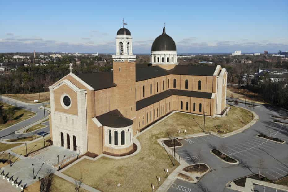 The Holy Name of Jesus Cathedral in Raleigh, North Carolina.
