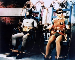 Batman and Robin in a tight spot