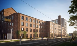 """The planned development at Crusader Mill, one of Capital & Centric's projects. Another, Talbot Mill, will not include any """"affordable"""" flats."""