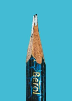 Nick Park's pencil