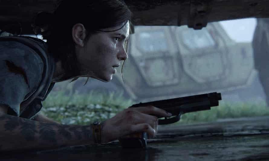 Apocalypse: wow … Ellie in The Last of Us Part II.